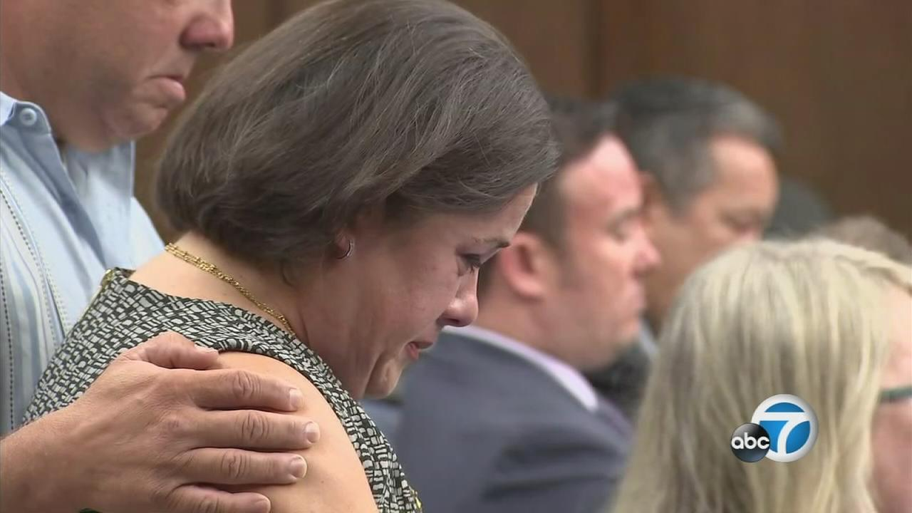 Ana Estevez delivers a powerful statement during Aramazd Andressian Sr.s sentencing in their 5-year-old sons killing Wednesday, Aug. 23, 2017.