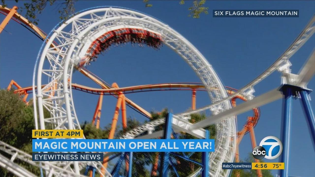 The self-proclaimed thrill capital of the world will be open all year long starting in 2018.