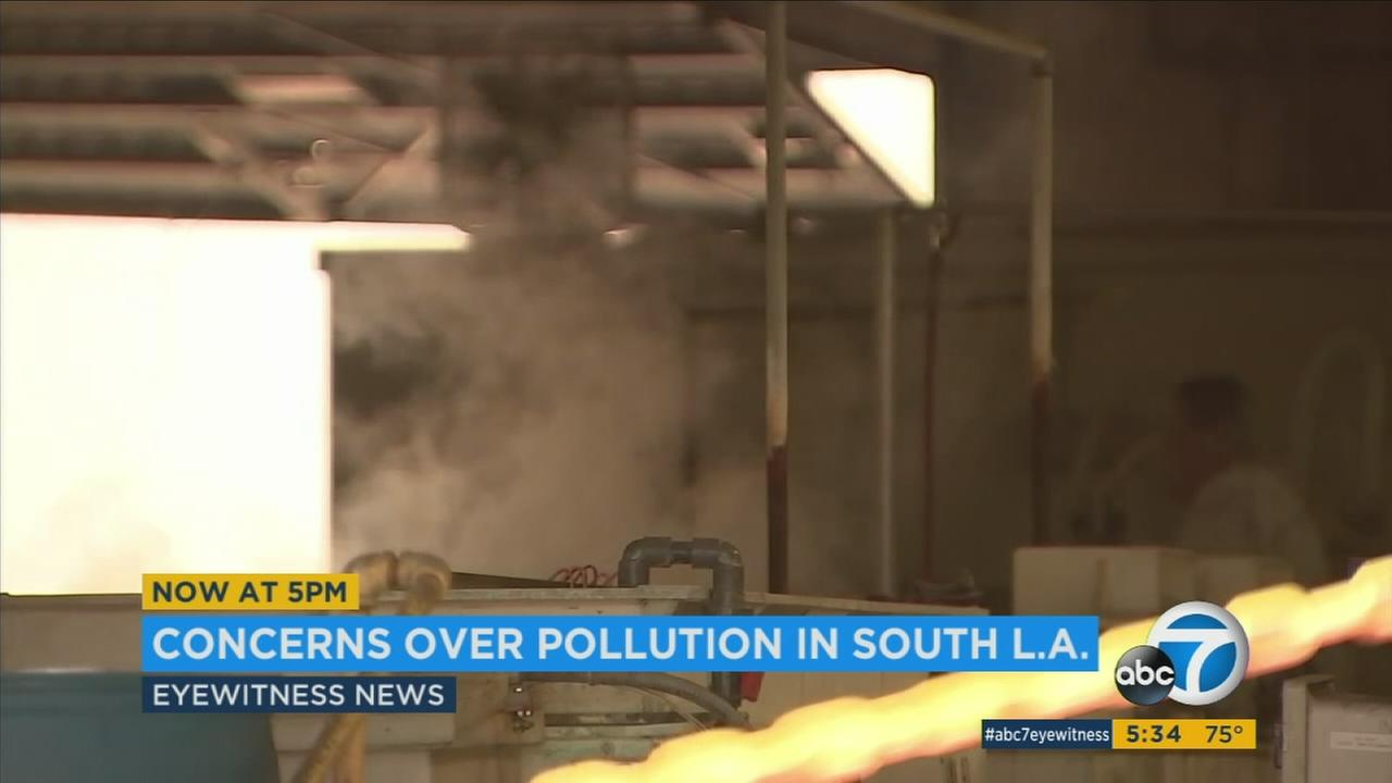 Parts of southern Los Angeles County are among the most heavily polluted in the nation, and the people who live there want something done about it.