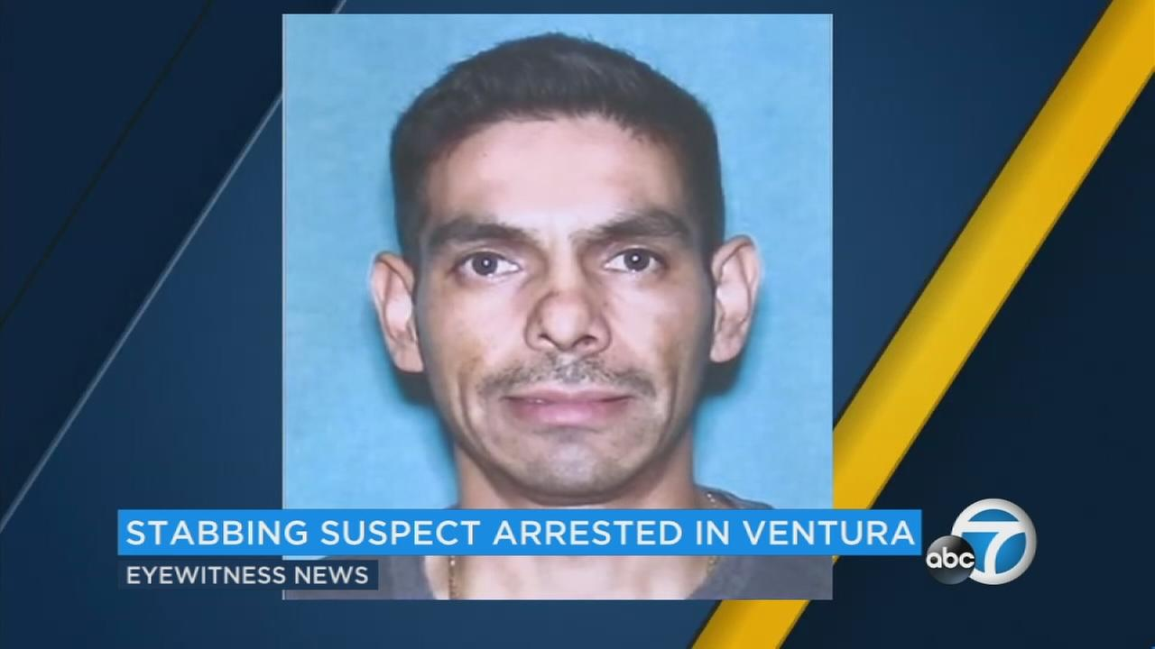 Man suspected of fatally stabbing wife in front of son arrested in Ventura County