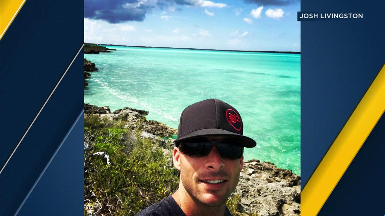 Riverside firefighter Joshua Livingston was in Turks and Caicos when he ended up stuck in his hotel as Hurricane Irma blasted through the Caribbean islands.