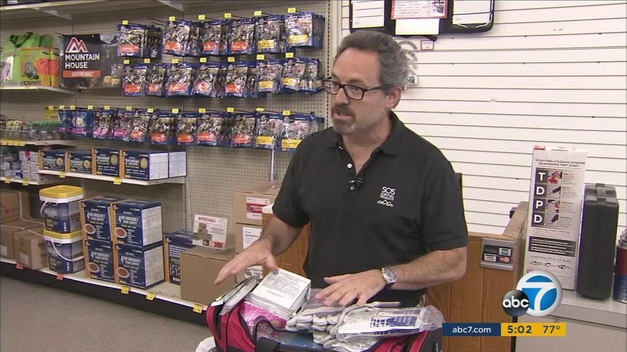 Earthquake: Be prepared with emergency kits