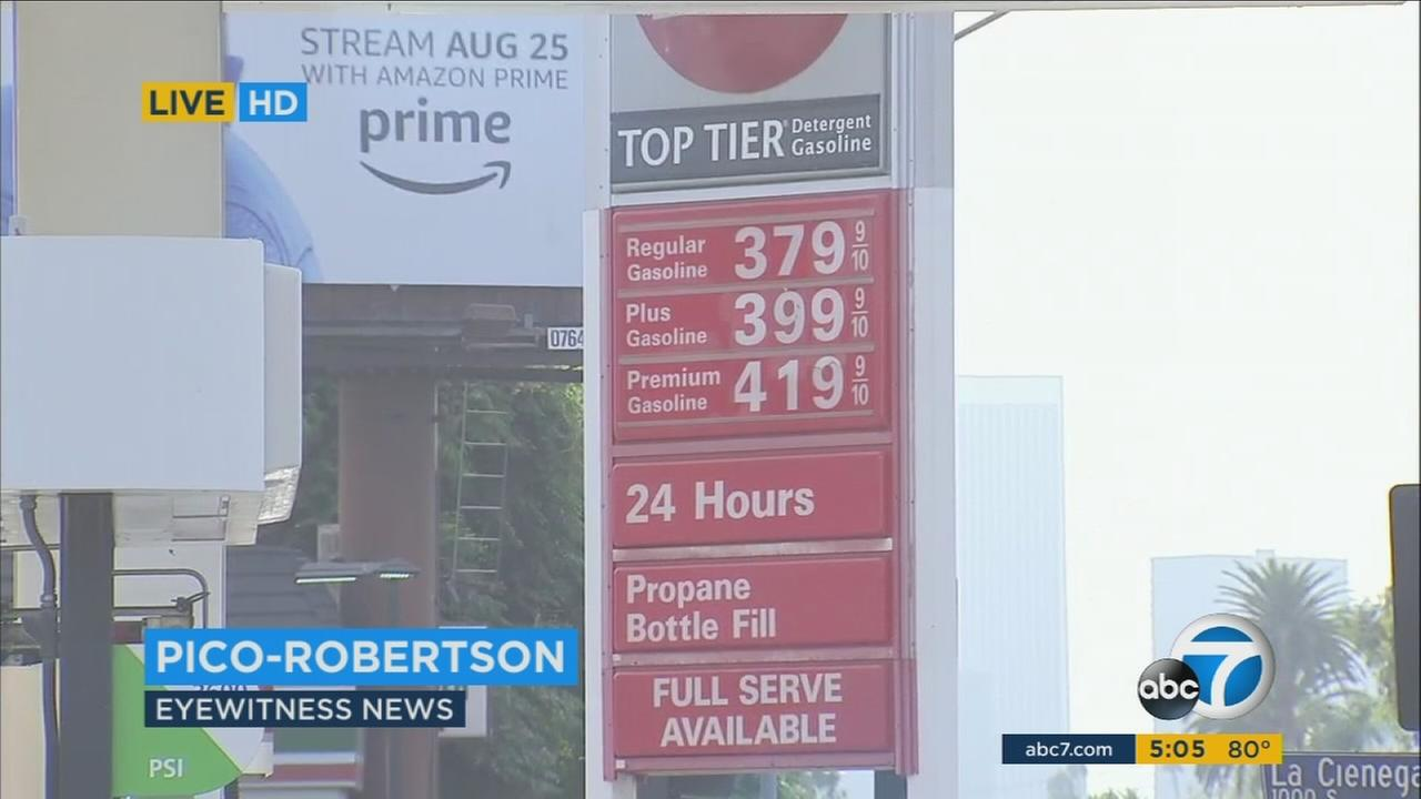 Gas prices have been rising in California and across the nation in the wake of two powerful hurricanes hitting southern states.