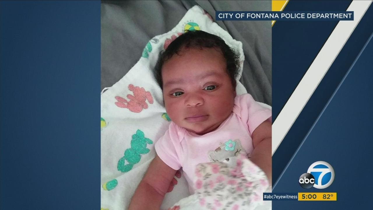 A baby who was inside a car stolen in Fontana was recovered safely in Norco and the suspect was arrested less than two hours after the theft, officials said.