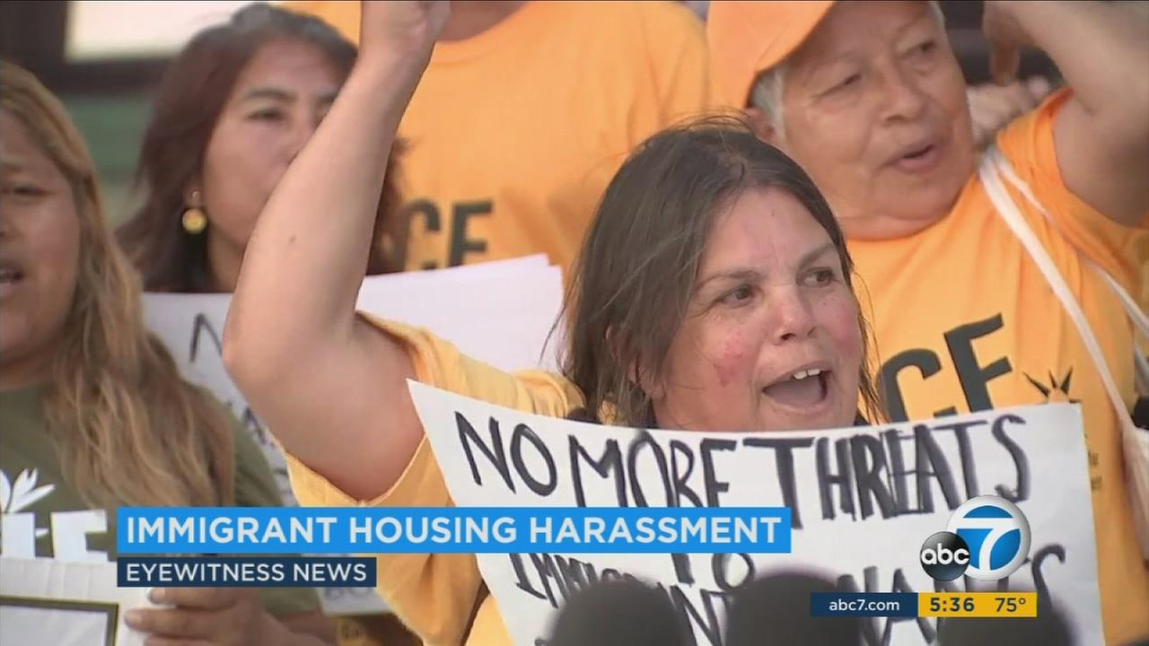 A measure being sent to Gov. Jerry Brown seeks to protect undocumented immigrants from landlords who threaten to turn them in to immigration authorities.