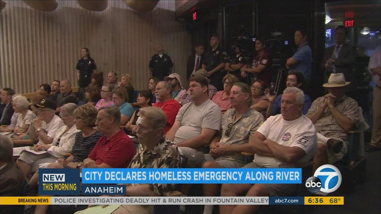 Anaheim has officially declared a health and safety state of emergency in response to the citys growing homeless population.