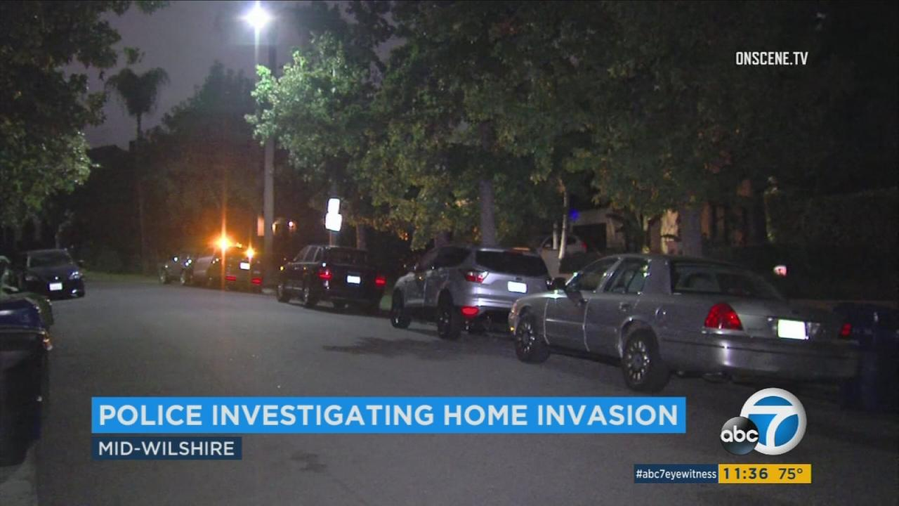 Los Angeles police are investigating their third home invasion this week. The latest one was in the Mid-Wilshire area.