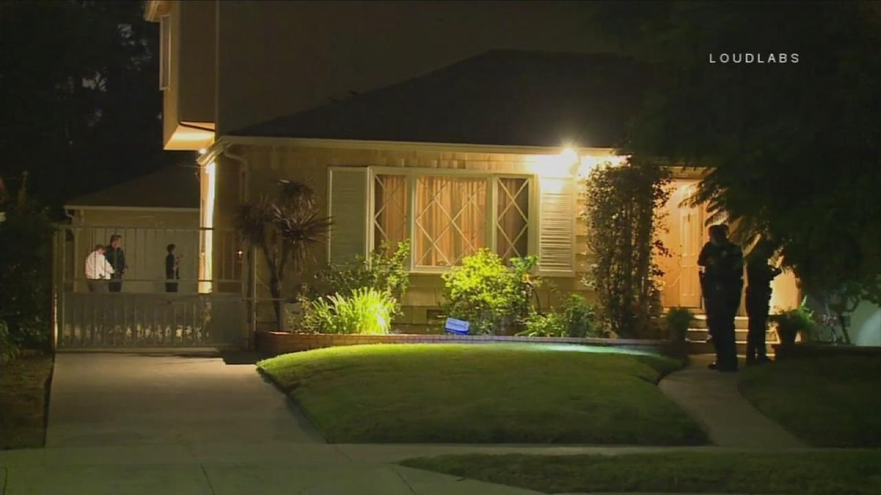 Robbers roughed up an elderly Mid-City woman and stole cash in a terrifying home invasion Monday night.