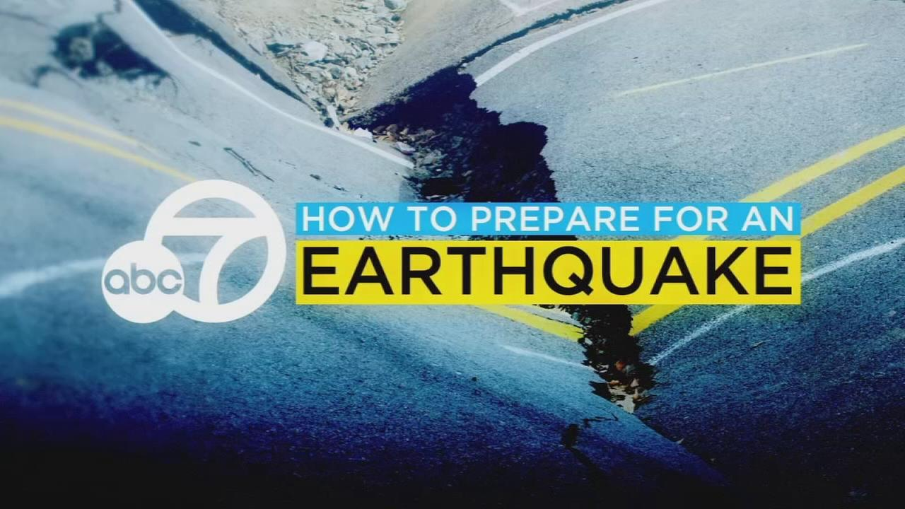 How to create your own earthquake kit with help from ABC7.