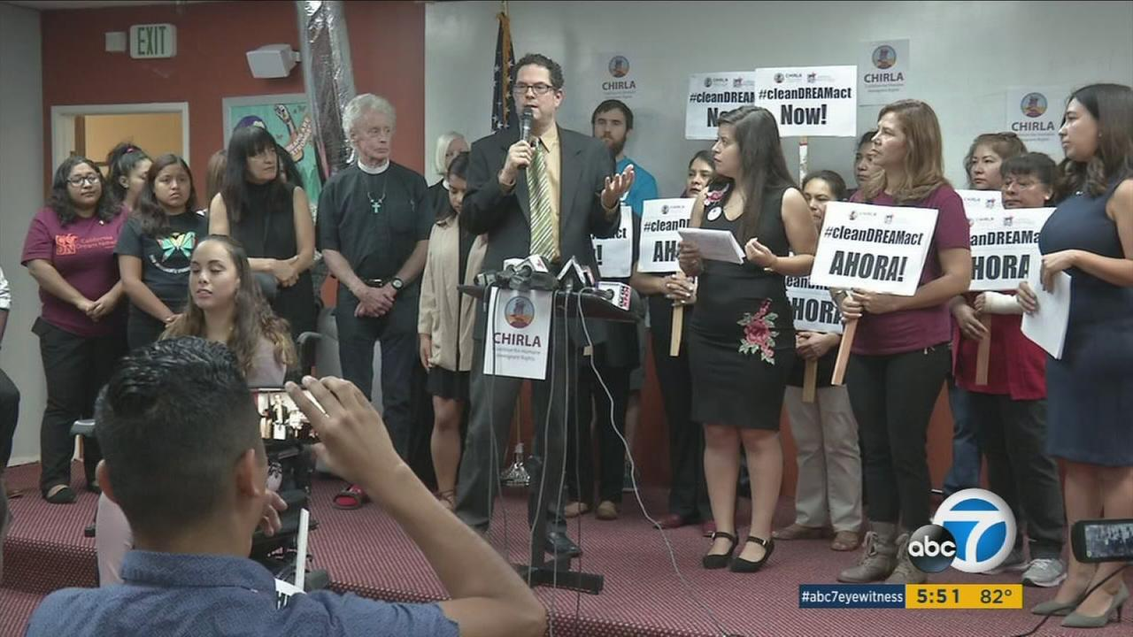 With a deadline for DACA renewals days away and Dream Act proposals on the table, immigrant rights organization CHIRLA is doubling down efforts.