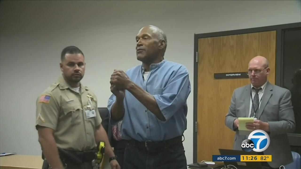 O.J. Simpson could be released on parole as soon as Monday in Las Vegas under a plan being finalized by Nevada officials, a prison spokeswoman said Wednesday.