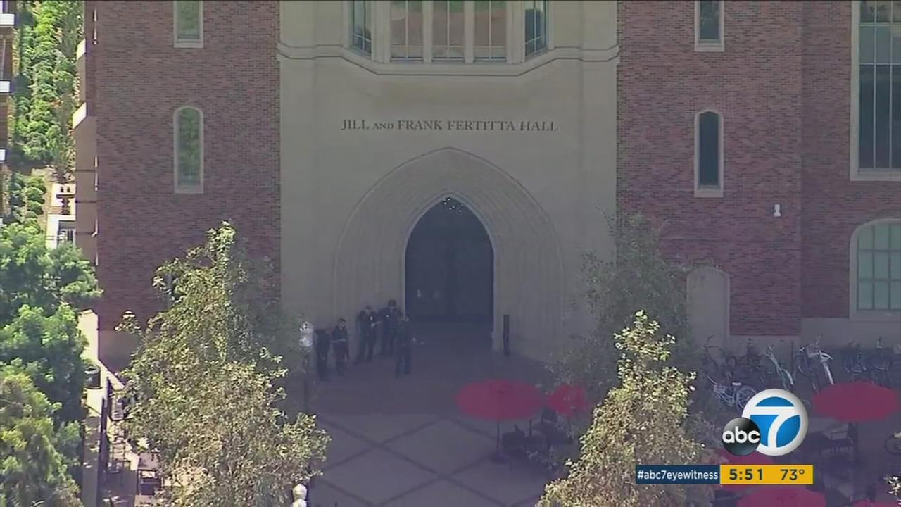 A USC professor suffered some sort of an episode that caused students to believe there was an active shooter at school, triggering the campus scare and police response on Monday, police said.