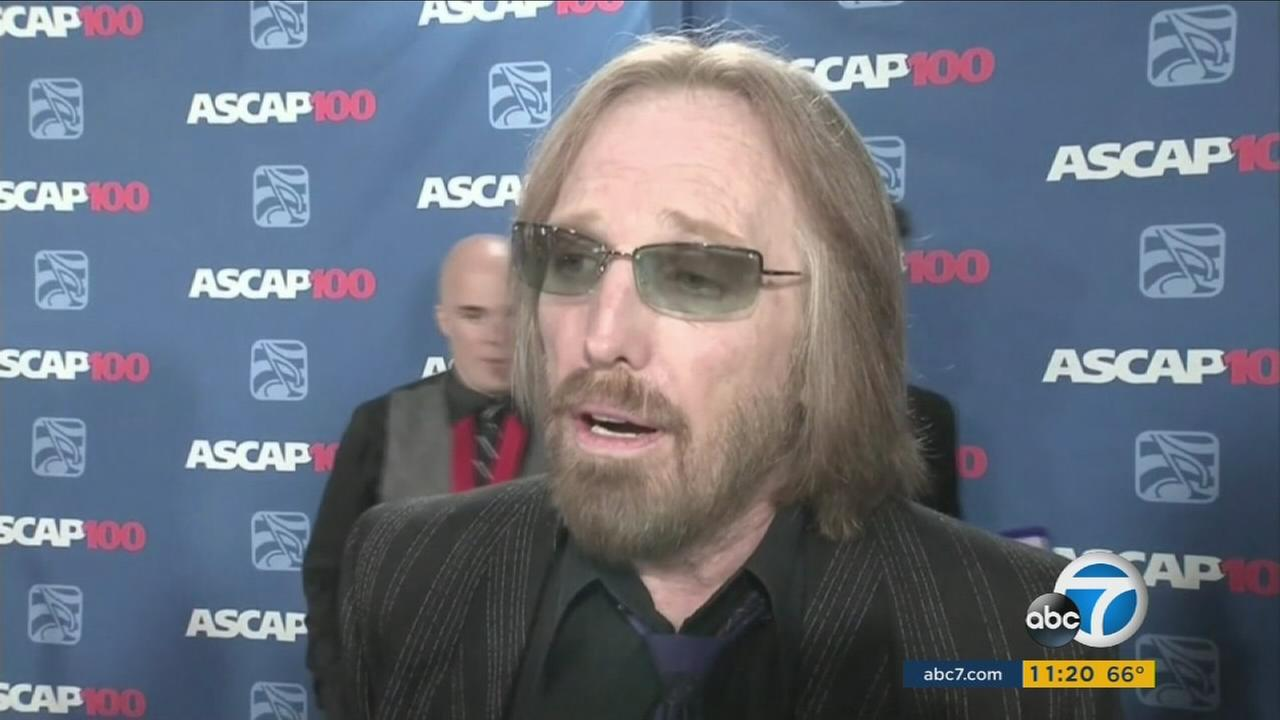Rocker Tom Petty has died at age 66.