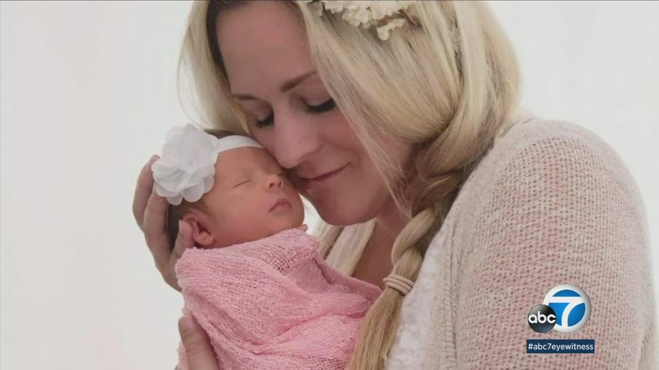Kristina Staples, 34, is shown in an undated photo with her child.