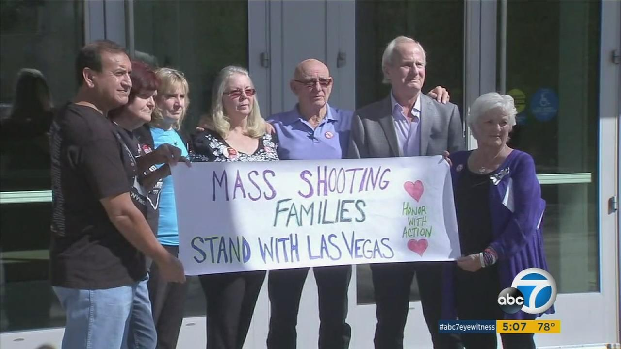 With all the victims of the worst mass shooting in U.S. history now identified, family members and survivors of other mass shootings have come to Vegas to console those impacted.