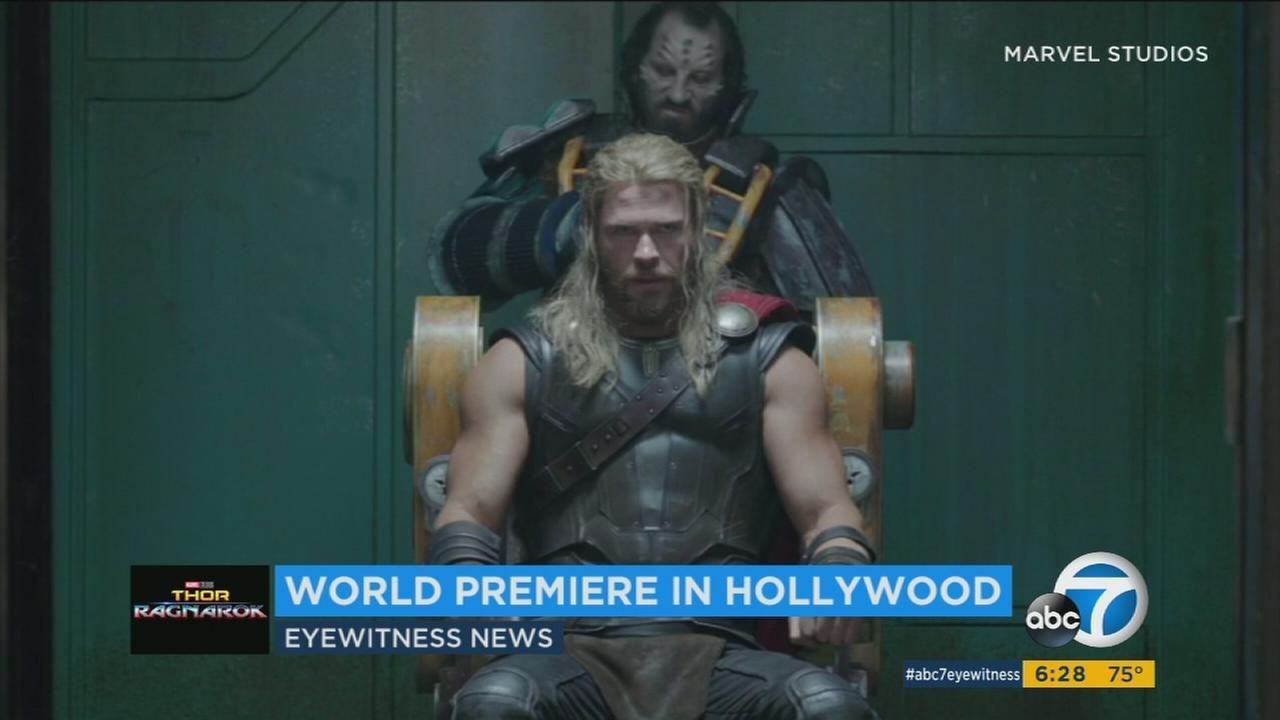 Chris Hemsworth returns in Thor: Ragnarok.