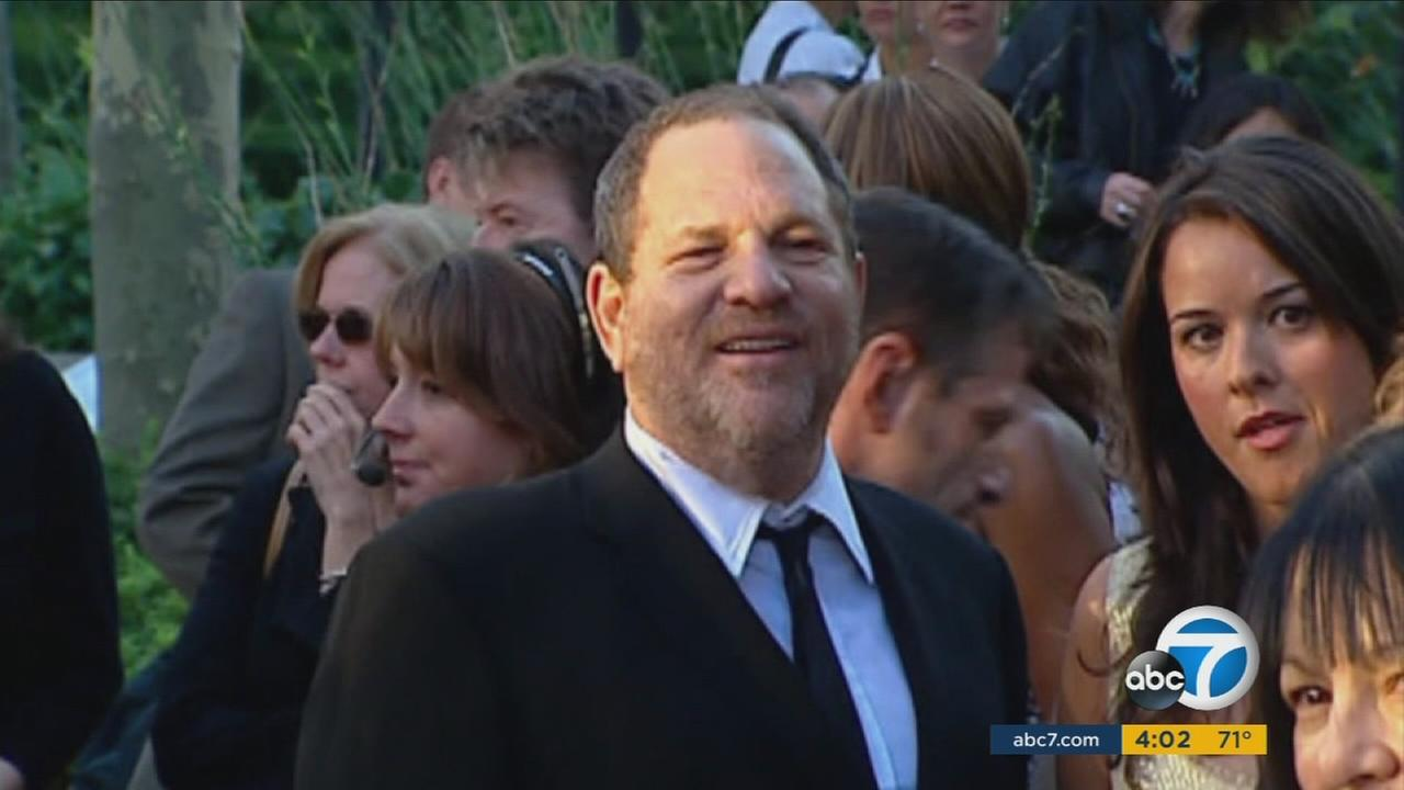 An undated photo of movie mogul Harvey Weinstein.