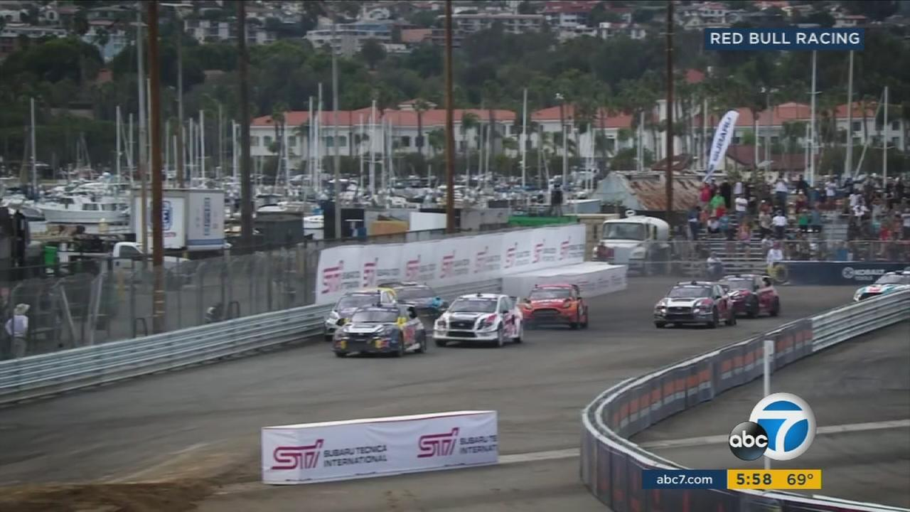 The cars competing at this weekends Red Bull Global Rallycross event are small, but mighty.