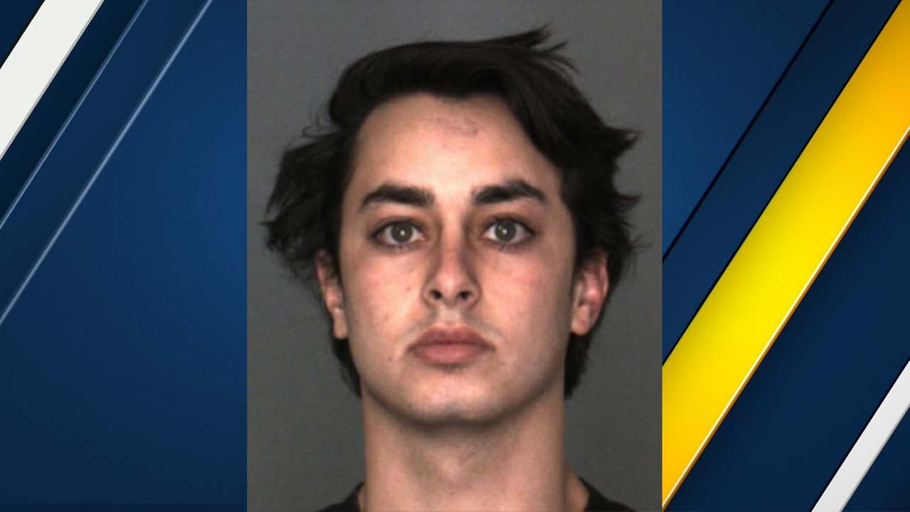 Christopher Sanchez, 20, is seen in a photo released by the San Bernardino County Sheriffs Department.