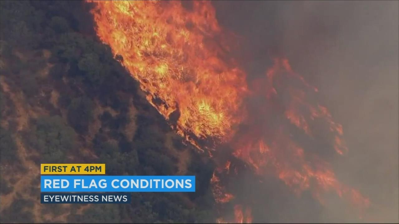 A fall heat wave is increasing the fire danger in the Southland.
