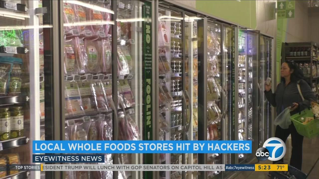 Whole Foods stores across Orange County, Los Angeles and Palm Desert have been targeted by hackers.