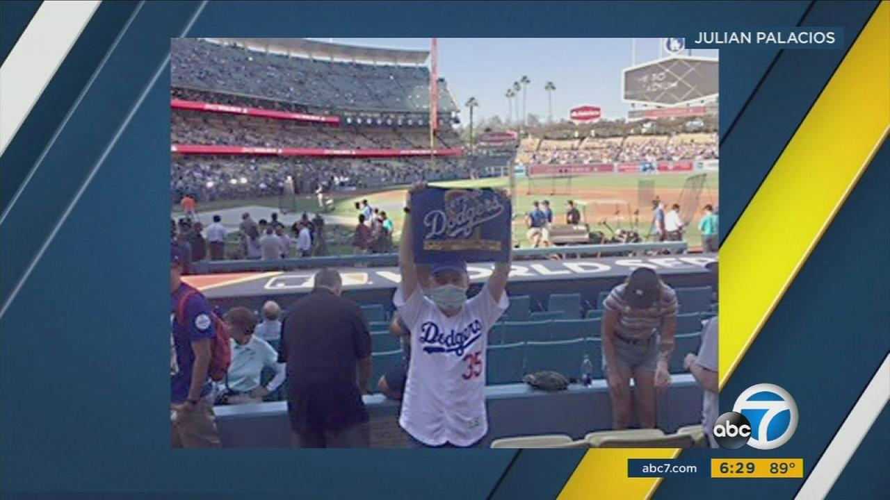 When 16-year-old Julian Palacios was preparing for a bone marrow transplant a few months ago, his only question was whether or not hed be well enough attend the World Series.