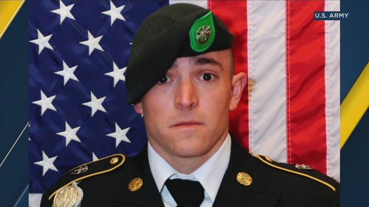 Sgt. 1st Class Stephen B. Cribben, of Simi Valley, is shown in a photo.