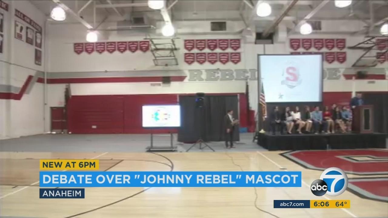 Orange County school board votes to rebrand controversial mascot, Johnny Rebel