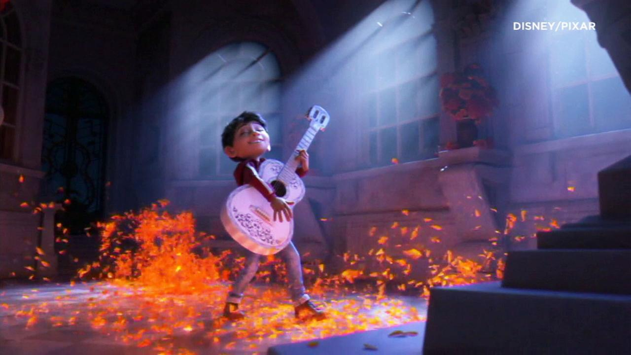 An image from Disney Pixars film Coco.