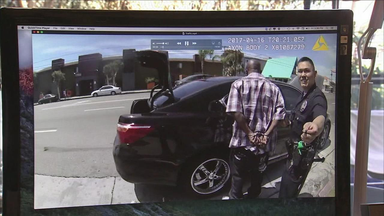 Body cam video shows what an attorney says is two LAPD officers planting drugs in a mans wallet as hes arrested.