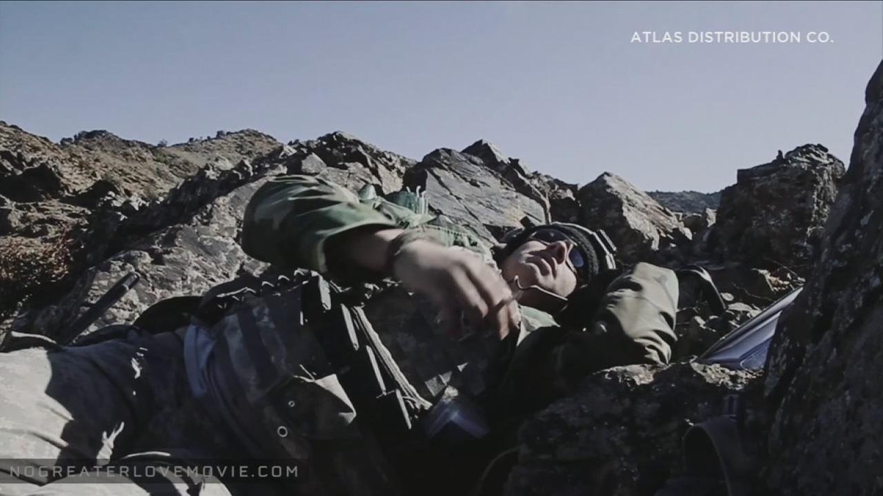 The documentary No Greater Love layers Afghanistan War footage with interviews from members of the 101st Airborne Divisions No Slack battalion.