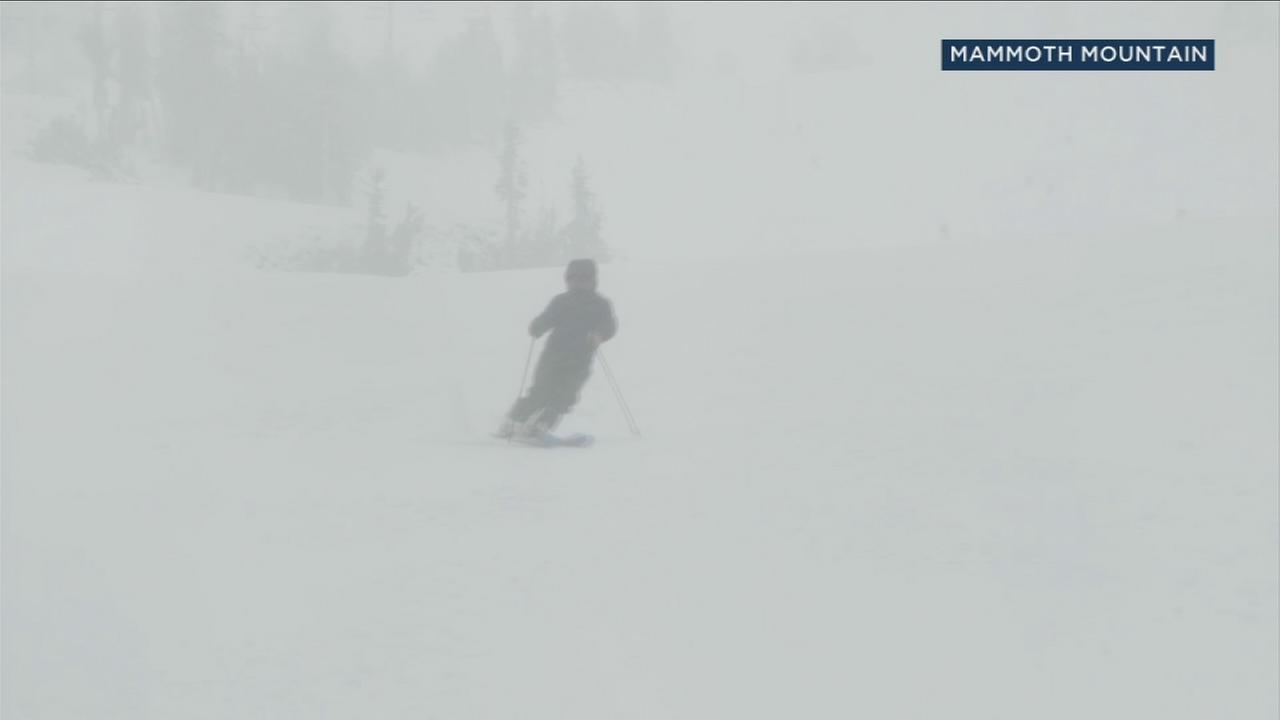 Mammoth Mountain prepares for winter season after snowfall