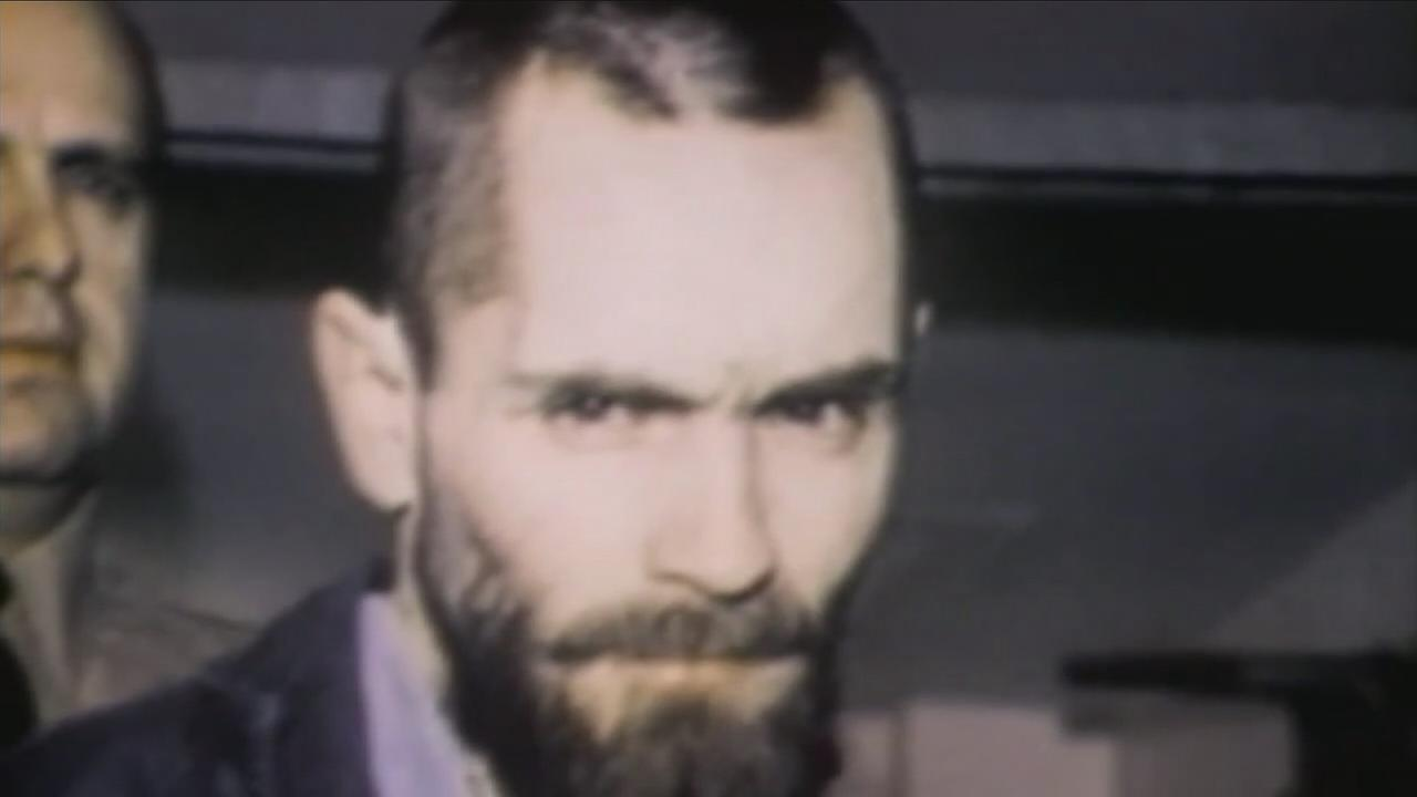 Cult leader Charles Manson is seen in an undated file photo.