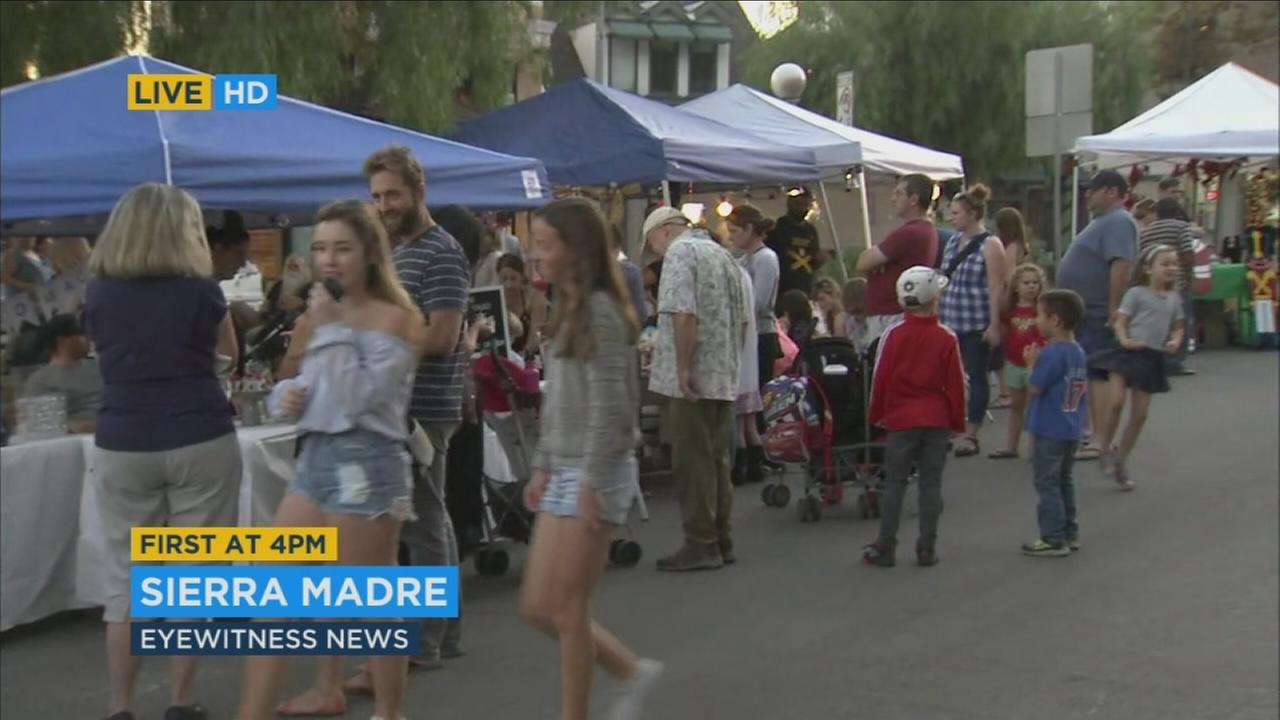 Shops in Sierra Madre and throughout Southern California celebrated Small Business Saturday on Nov. 25, 2017.