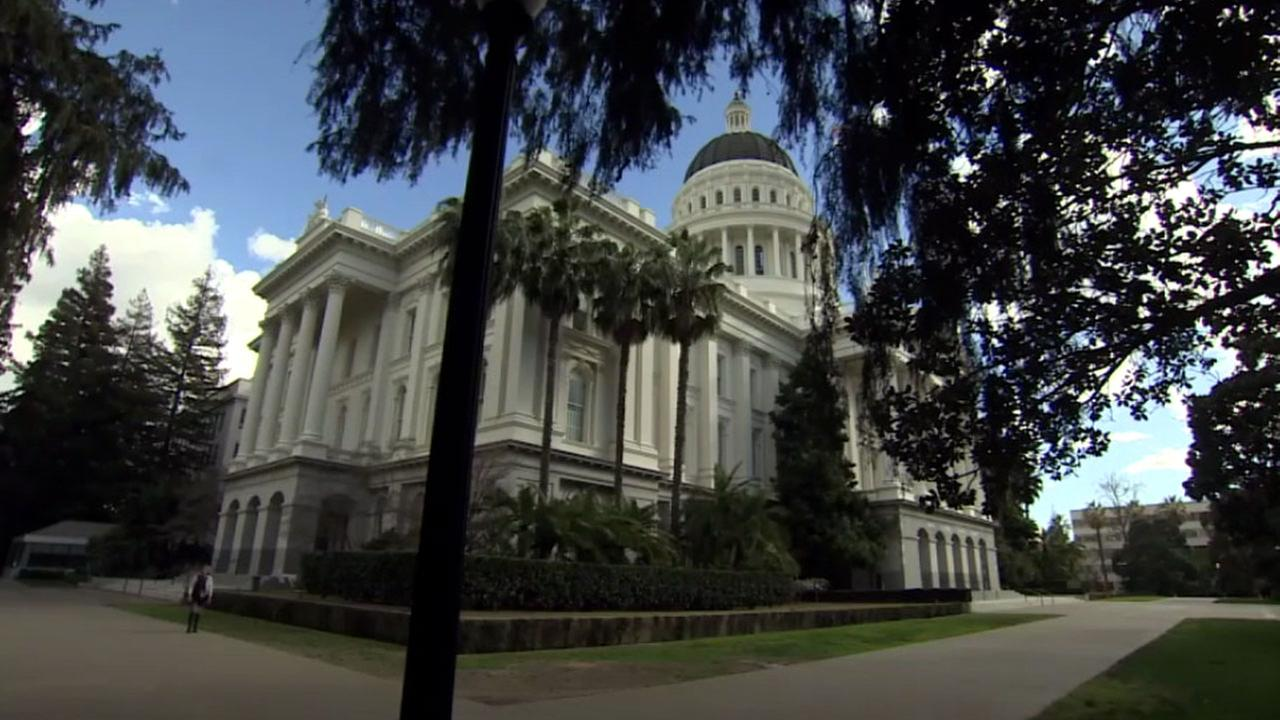 The California Capitol building is shown in a file photo.