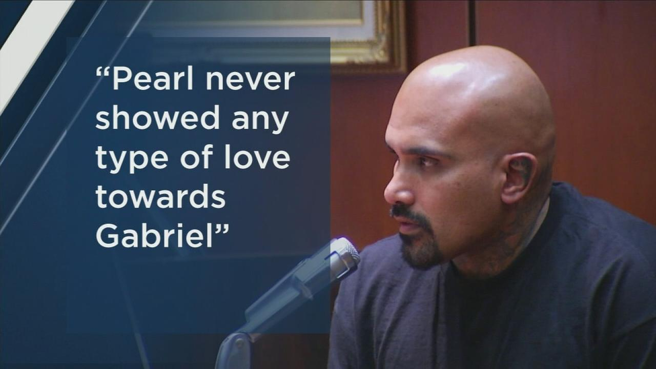 Arnold Contreras testifies against his sons killer on Tuesday, Nov. 28, 2017.