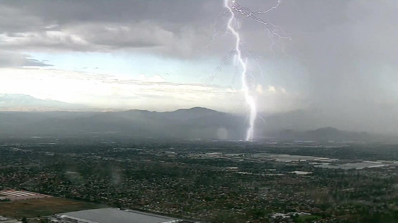 wild weather hits parts of southern california