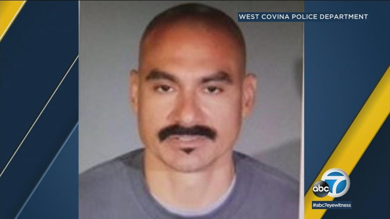 An undated photo of 40-year-old Christopher Arenas, wanted for four burglaries and attempted murder in West Covina.