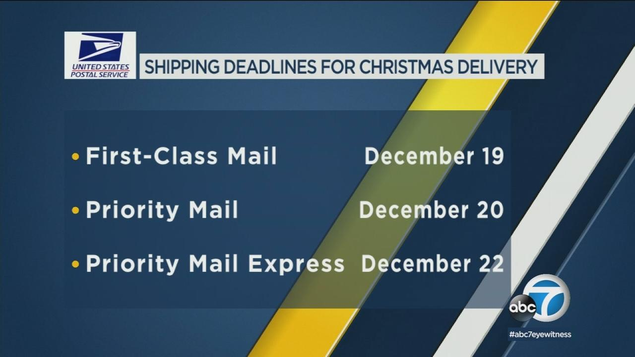 Seven million customers are expected to visit the post office on Monday alone, so expect long lines when you show up to mail your gifts.