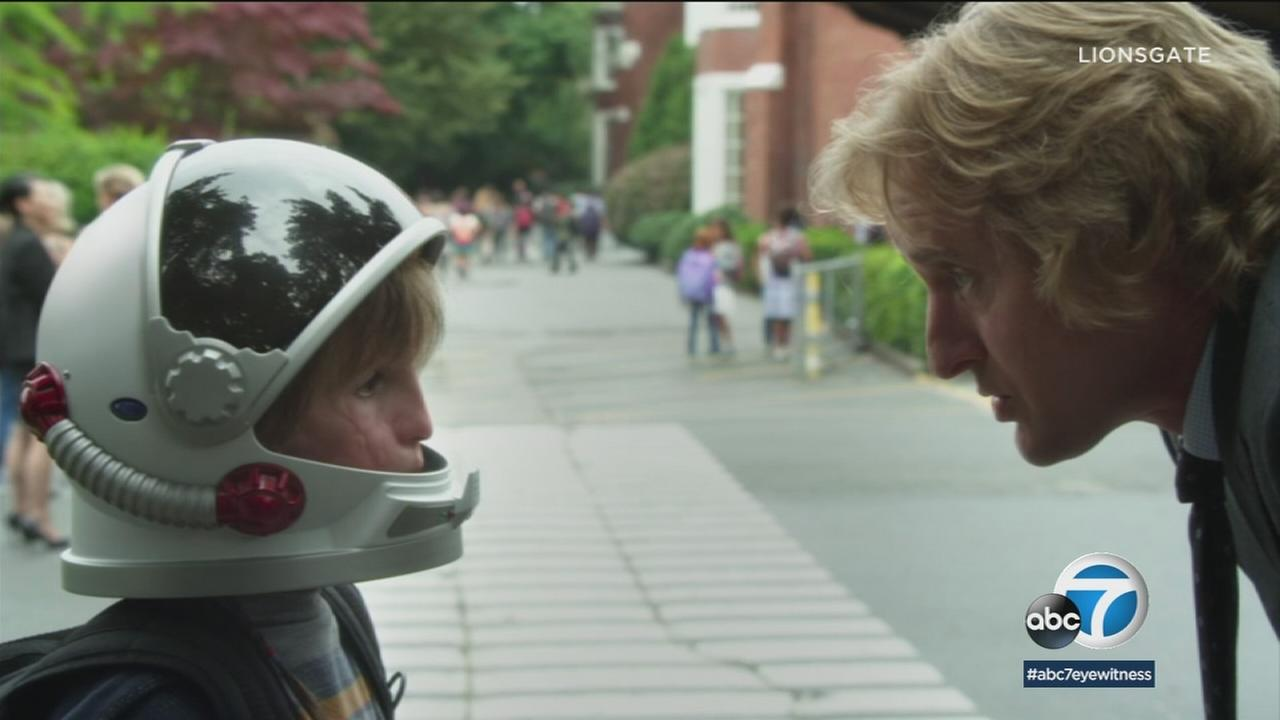 Jacob Tremblay is shown in a scene from his new movie Wonder.