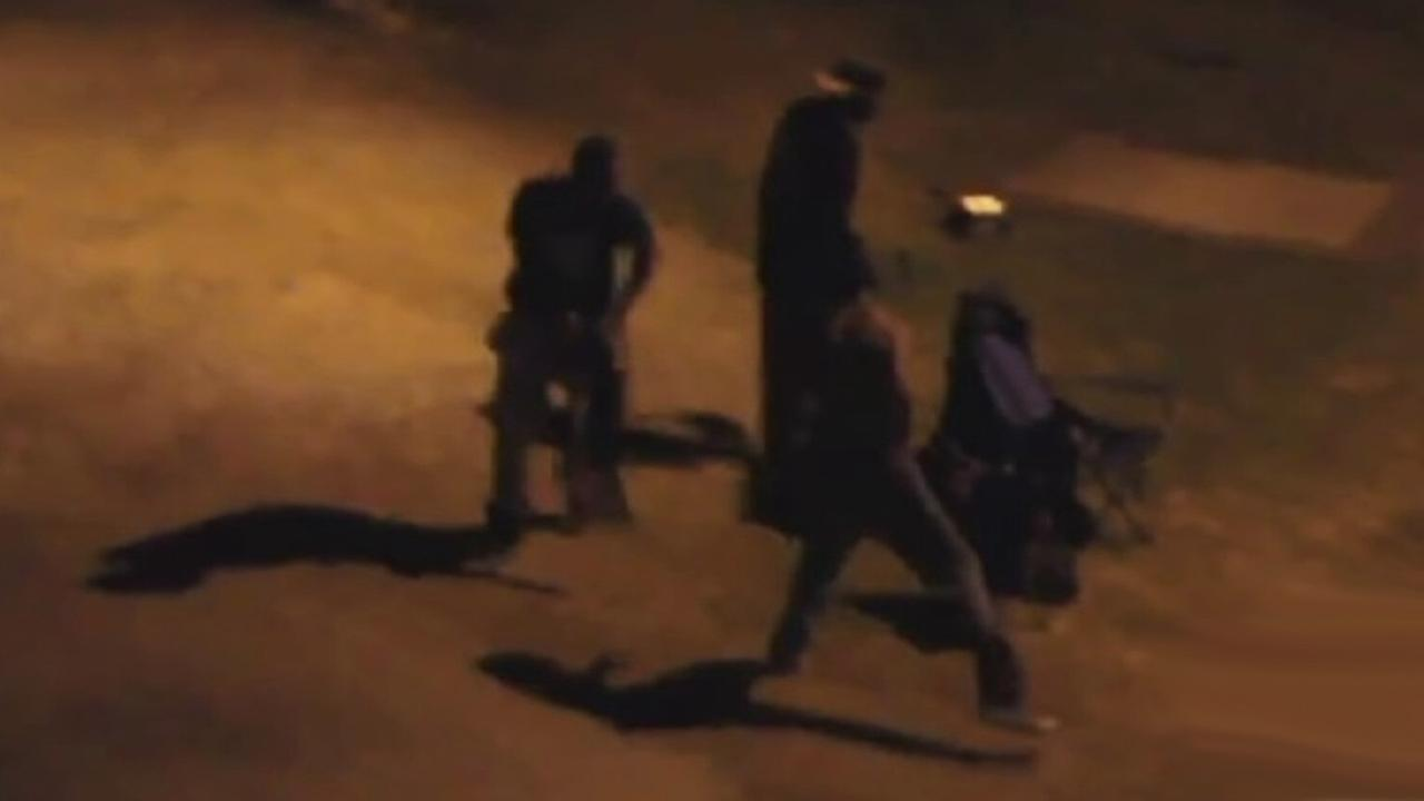 A brutal attack was caught on camera in Venice Beach on Tuesday, Aug. 26, 2014.