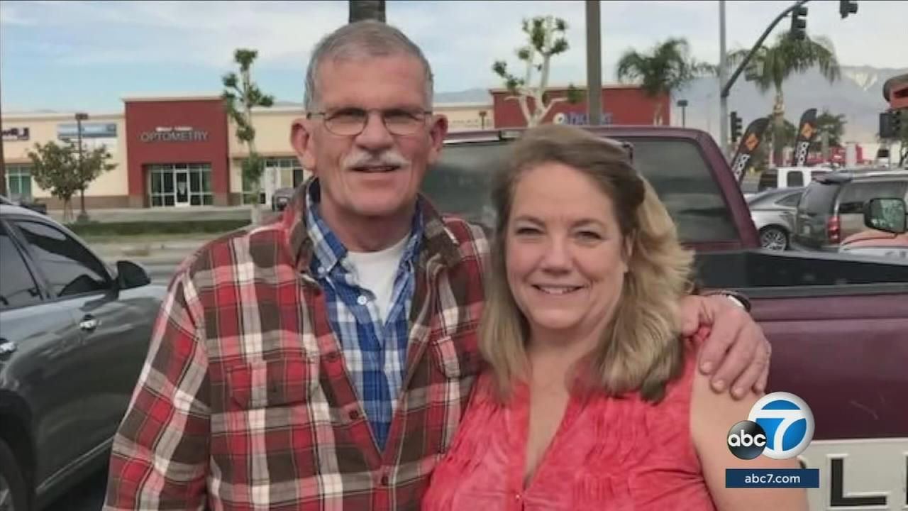 Marjorie Falce-Jorgensen is mourning the loss of her brother, San Bernardino County sheriffs deputy Larry Falce, who died after an assault following a traffic collision.