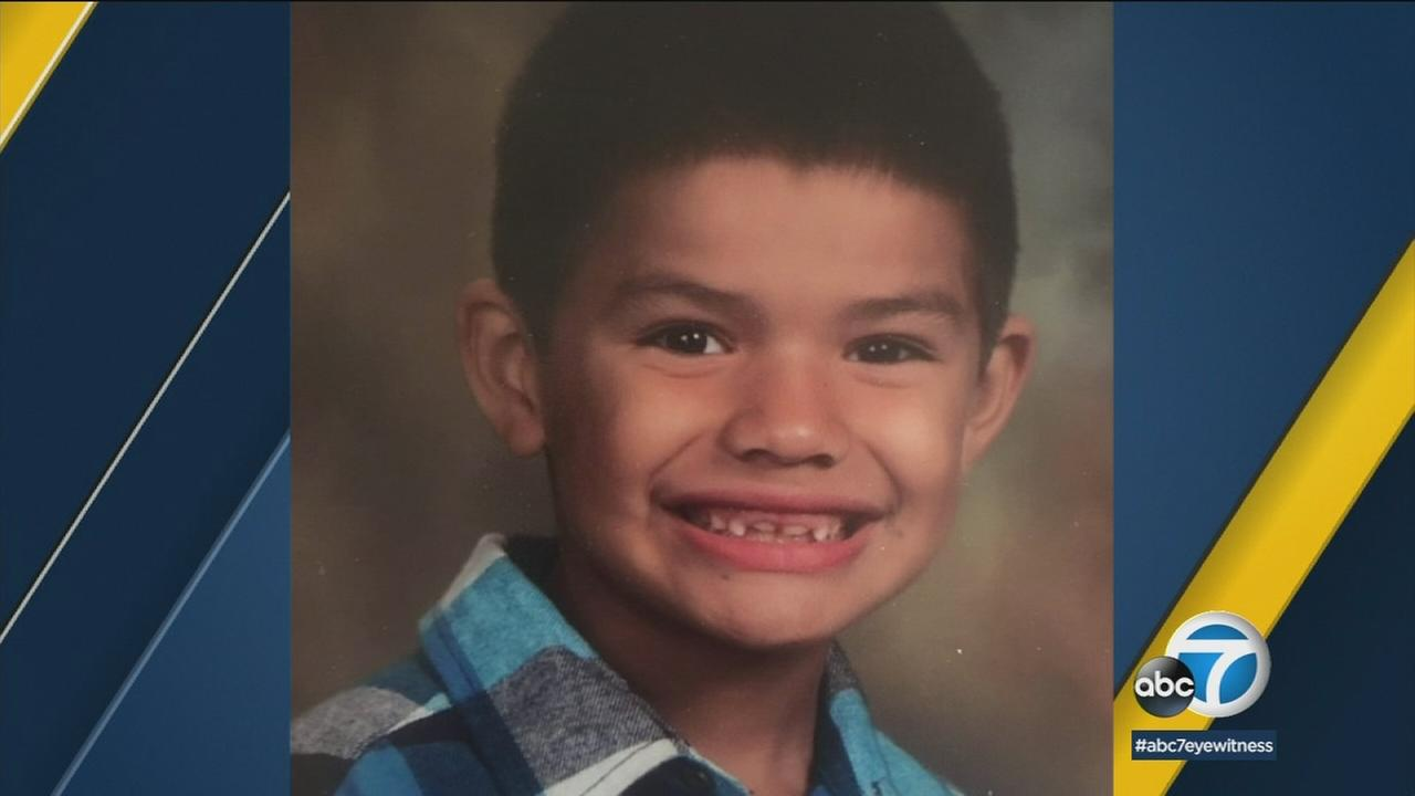 Cisco Galvez, 7, is shown in a school photo provided by his family.