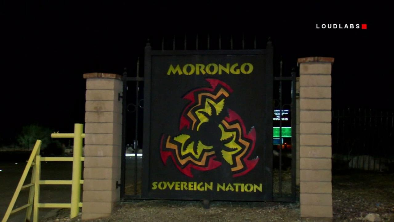 The Morongo Indian Reservation where three people were shot, one fatally, on Wednesday, Jan. 10, 2018.