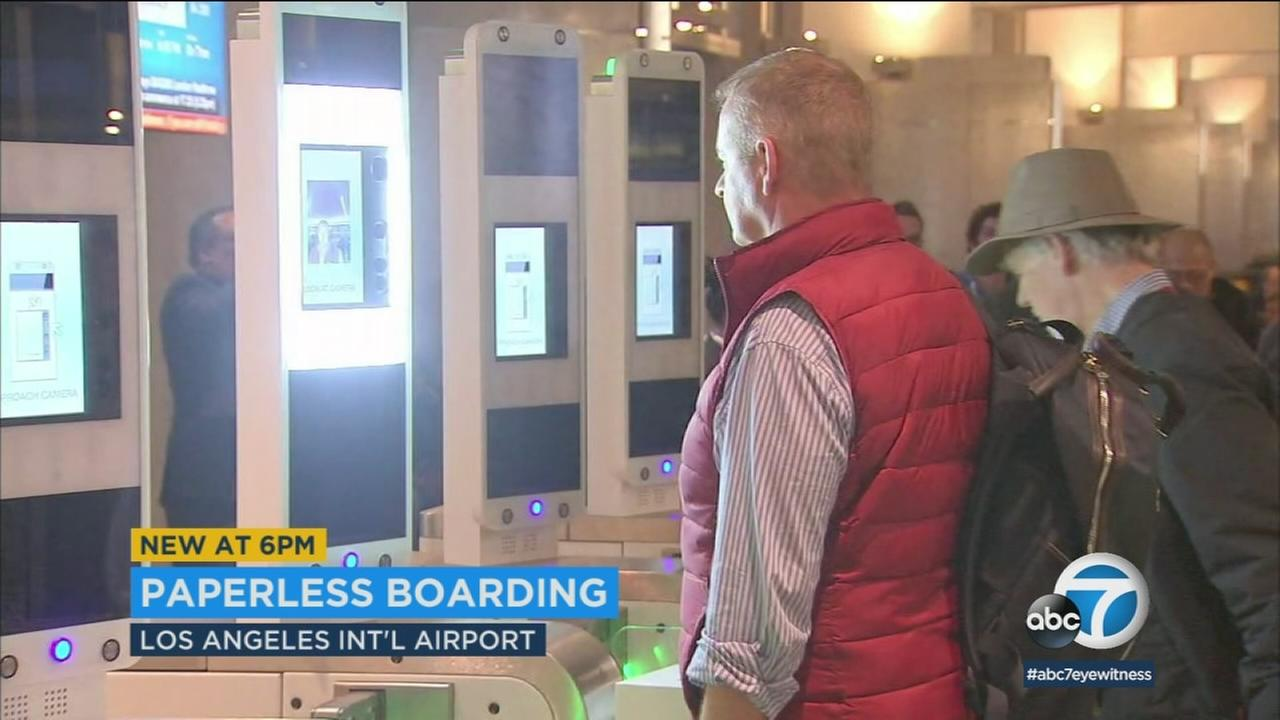 British Airways is now using facial recognition technology to board passengers at LAX.