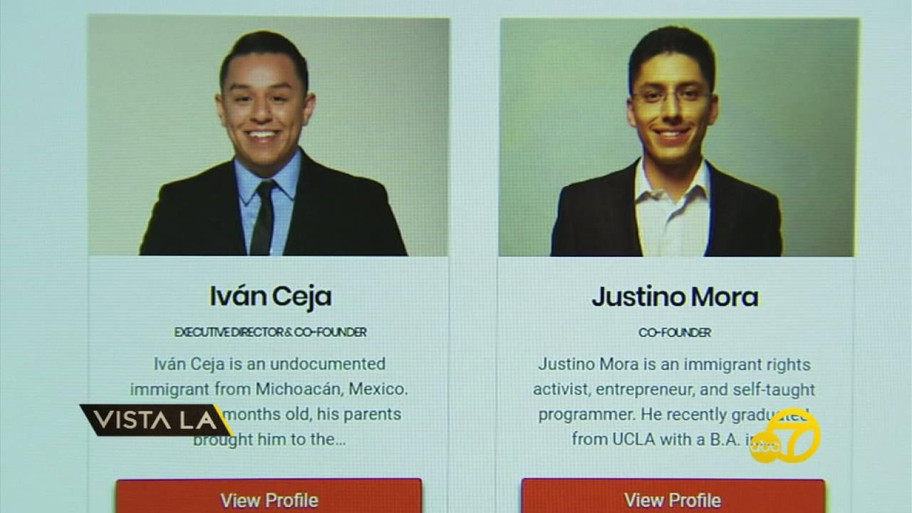 Undocumedia founders Ivan Ceja and Justino Mora are shown in profiles on their website.