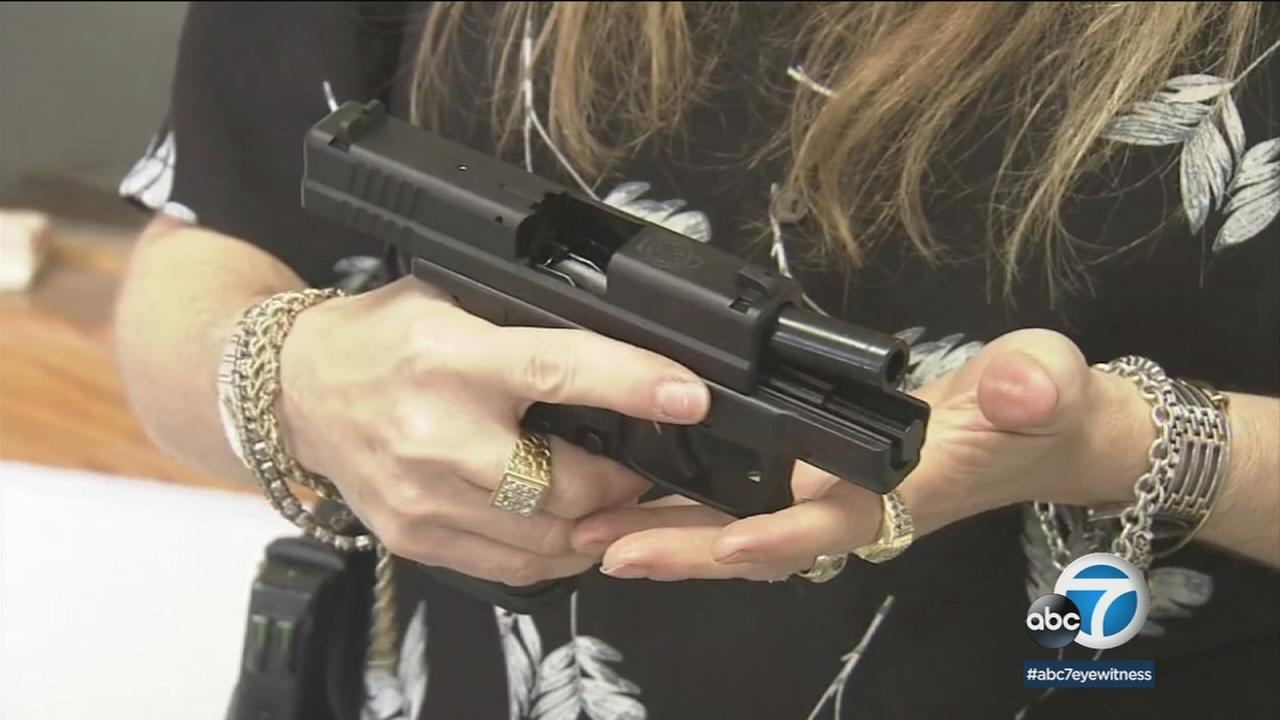 The gun industry is holding its biggest annual trade show this week just a few miles from the site where a gunman slaughtered 58 concertgoers.