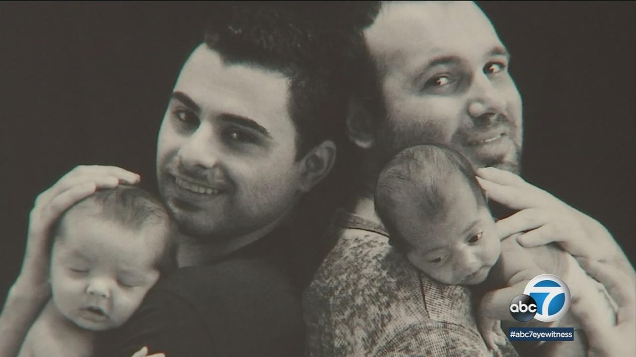 Elad and Andrew Davash-Banks and their sons Ethan and Aiden.