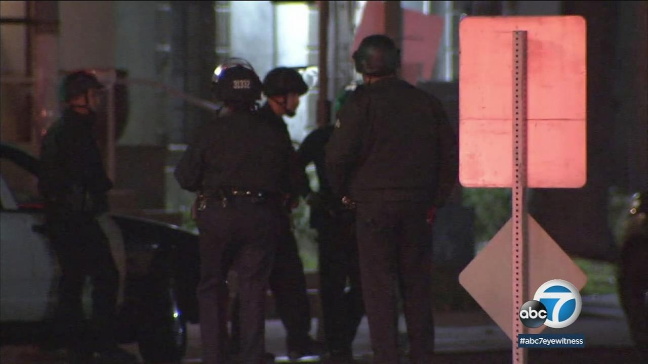 Los Angeles Police Department officials are highlighting the dangers of the job after officers were involved in three separate life-threatening incidents in the last 24 hours.