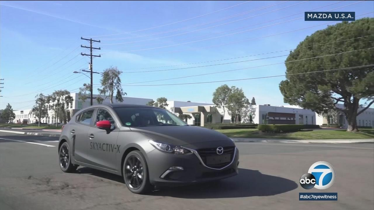Mazdas new Skyactiv-X engine runs on gasoline while offering diesel-like mileage and power.